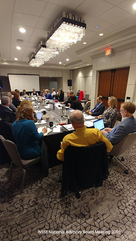 NSSE Engages with National Advisory Board